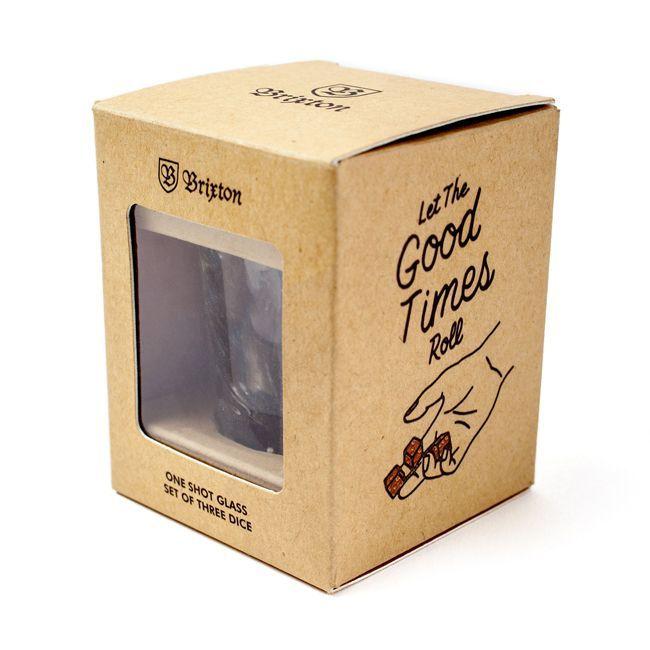 Brixton ブリクストン ショットグラス ダイス 雑貨 ゲーム GOOD TIMES 通販