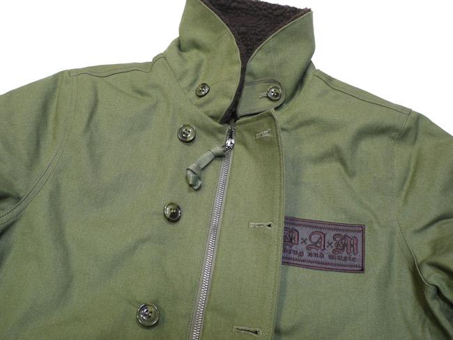 DxAxM ジャケット アウター N1 N-1 ダックジャケット green