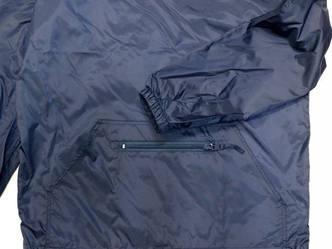 DxAxM ダム フードジャケット アノラック ナイロンジャケット windbreaker コーチジャケット ウインドブレーカー ネイビー 通販