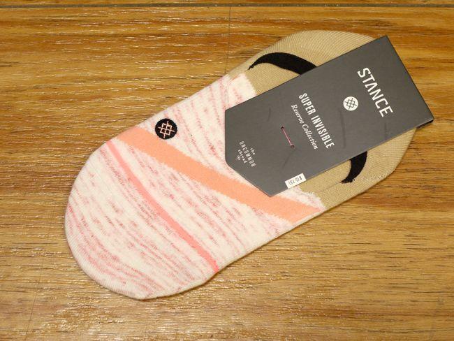 スタンスソックス stance socks レディース PINK STRIPE 店舗 通販