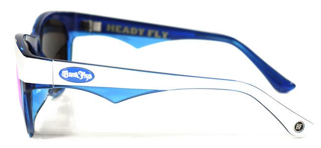 HEADY FLY ミラーレンズ サングラス ブラックフライズ ブルーホワイト 通販 激安 セール blackflys アイウェア eyewear