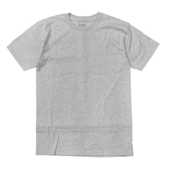 ブリクストン 半袖 Tシャツ brixton BOA S/S STANDARD TEE グレイ ヘザーグレイ スカル シンプル メンズファッション メンズアパレル 通販