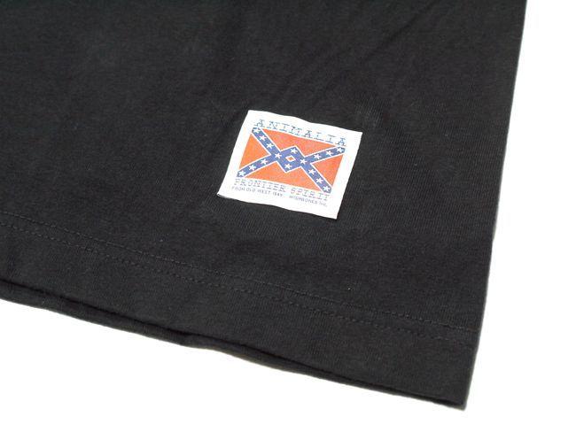 アニマリア animalia Tシャツ NEON SIGN ネオン ブラック 通販 取扱店
