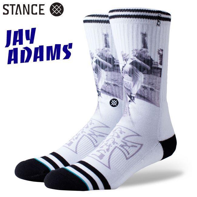 VENICE SKATE STANCE  SOCKS スタンスソックス JAY ADAMS ジェイアダムス 100%skateboarder 通販 靴下 スケーターソックス