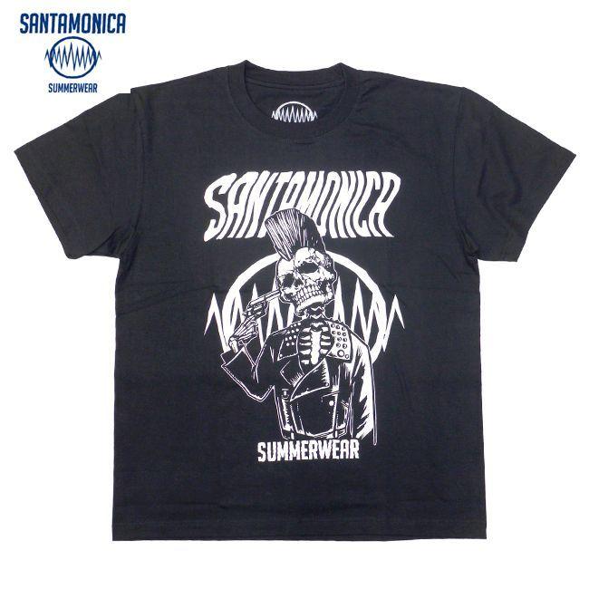 SANTAMONICA SUMMER WEAR SUICIDE SKULL Tシャツ HEY-SMITH ヘイスミス 通販 黒Tee