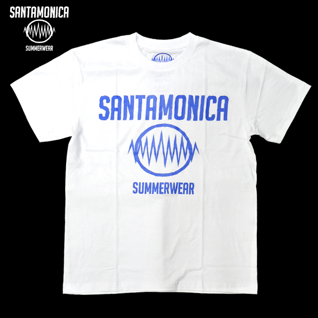 SANTAMONICA SUMMER WEAR ロゴ LOGO Tシャツ HEY-SMITH ヘイスミス 通販 白