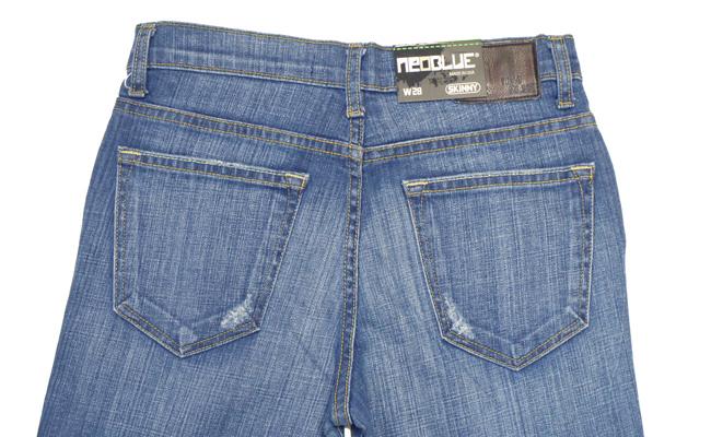NEO BLUE jogger pants スキニー SKINNY   デニム 701 通販