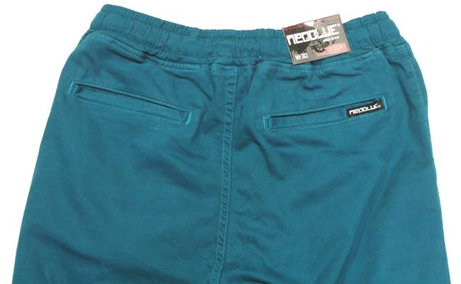 NEO BLUE jogger pants ジョガーパンツ サルエル 7615  Dark Teal Blue 通販