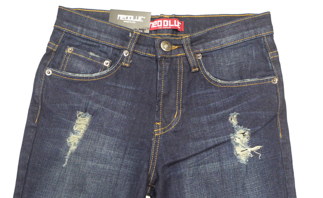 NEO BLUE jogger pants スキニー SKINNY   デニム 703 通販