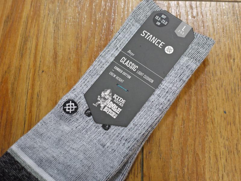 LANDED BOYS STANCE SOCKS スタンスソックス キッズ  可愛い  キャラクター 通販 取扱店 ホワイト 靴下 ファッション