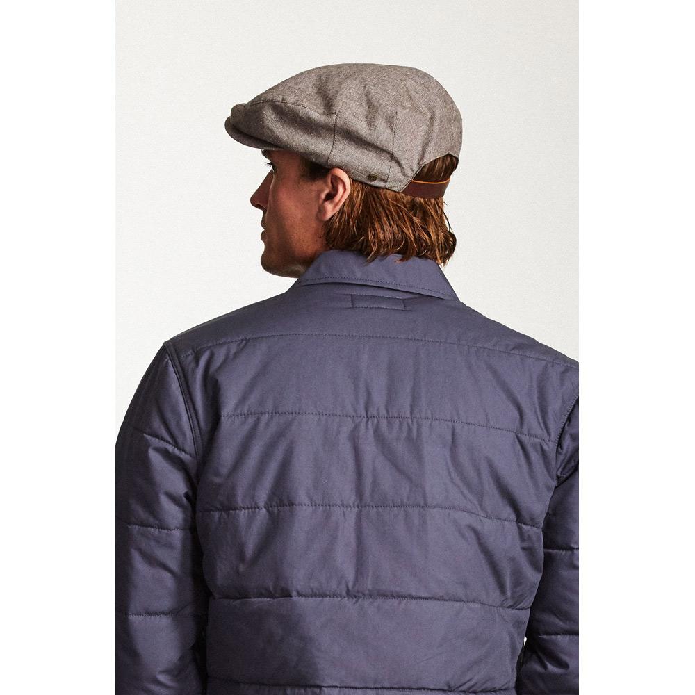 075d20508690f ... buy brixton seth snap cap brown white a2624 c90a9 spain brixton mens  seth o s ...